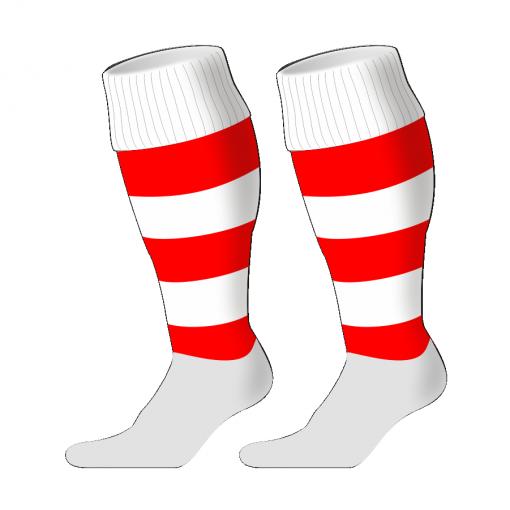 Custom, Bespoke Rugby Sock Design 237 - Badger Rugby