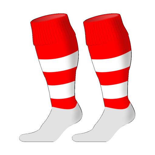 Custom, Bespoke Rugby Sock Design 238 - Badger Rugby