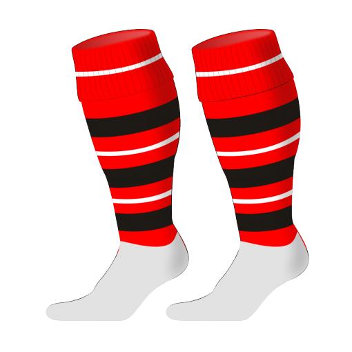 Custom, Bespoke Rugby Sock Design 239 - Badger Rugby