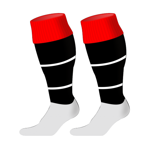 Custom, Bespoke Rugby Sock Design 240 - Badger Rugby