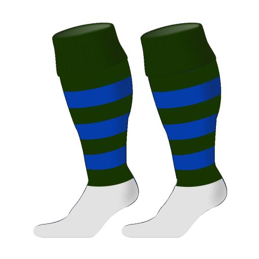 Custom, Bespoke Rugby Sock Design 242 - Badger Rugby