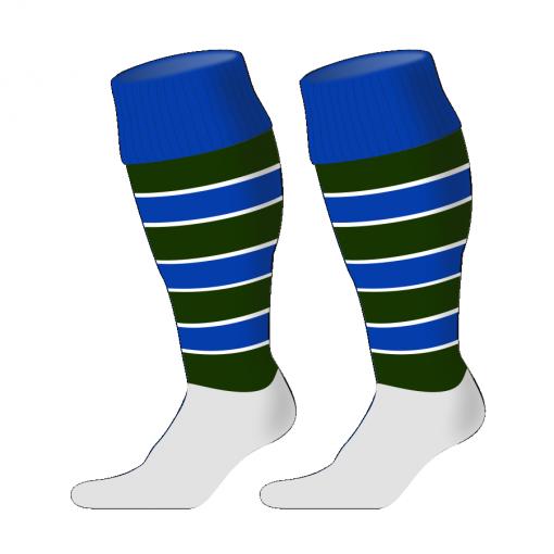Custom, Bespoke Rugby Sock Design 243 - Badger Rugby