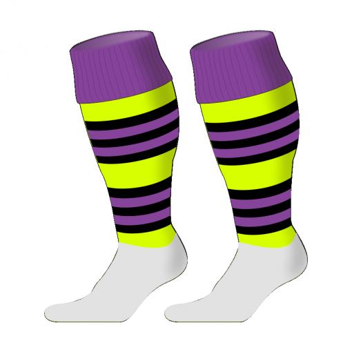 Custom, Bespoke Rugby Sock Design 246 - Badger Rugby