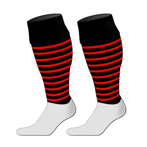 Custom, Bespoke Rugby Sock Design 249 - Badger Rugby