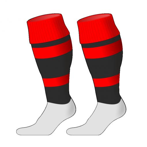 Custom, Bespoke Rugby Sock Design 250 - Badger Rugby