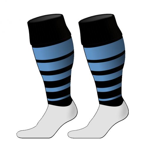 Custom, Bespoke Rugby Sock Design 251 - Badger Rugby