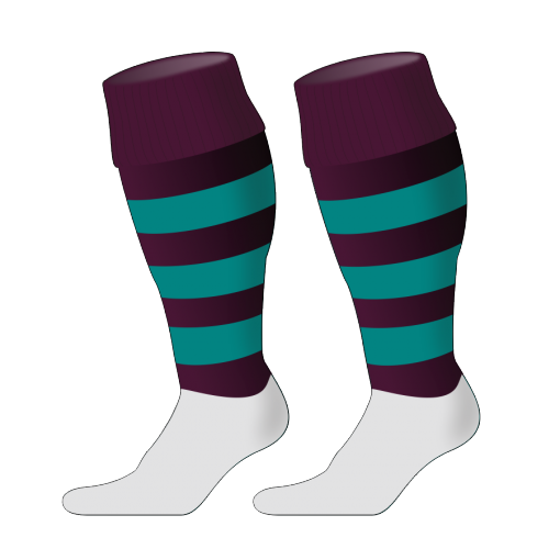 Custom, Bespoke Rugby Sock Design 252 - Badger Rugby