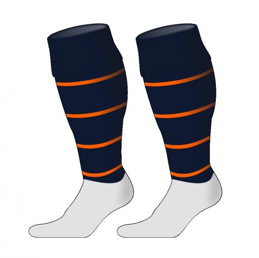 Custom, Bespoke Rugby Sock Design 254 - Badger Rugby