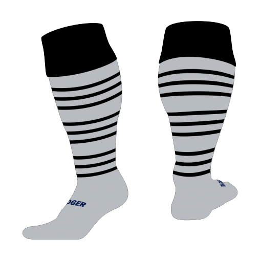 Custom, Bespoke Rugby Sock Design 511 - Badger Rugby