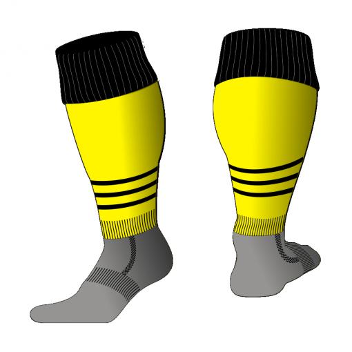 Custom, Bespoke Rugby Sock Design 512 - Badger Rugby