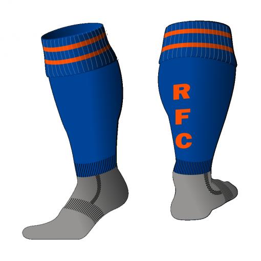 Custom, Bespoke Rugby Sock Design 513 - Badger Rugby