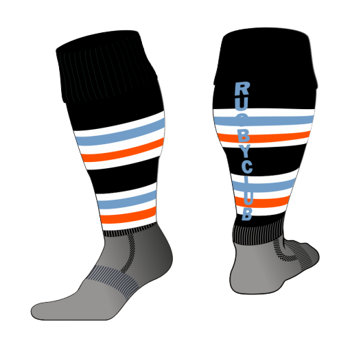 Custom, Bespoke Rugby Sock Design 515 - Badger Rugby