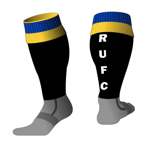 Custom, Bespoke Rugby Sock Design 520 - Badger Rugby