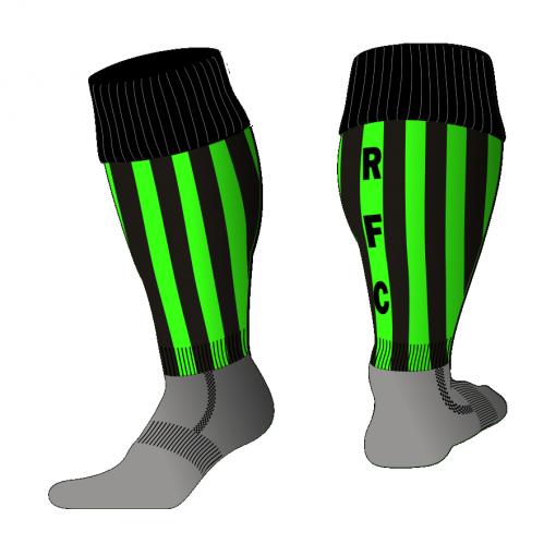 Custom, Bespoke Rugby Sock Design 523 - Badger Rugby