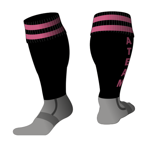 Custom, Bespoke Rugby Sock Design 524 - Badger Rugby