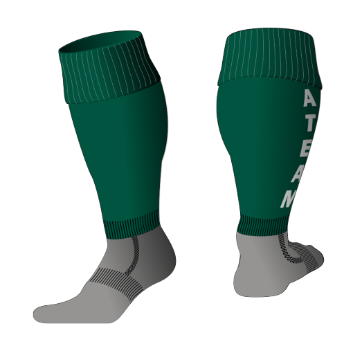Custom, Bespoke Rugby Sock Design 525 - Badger Rugby