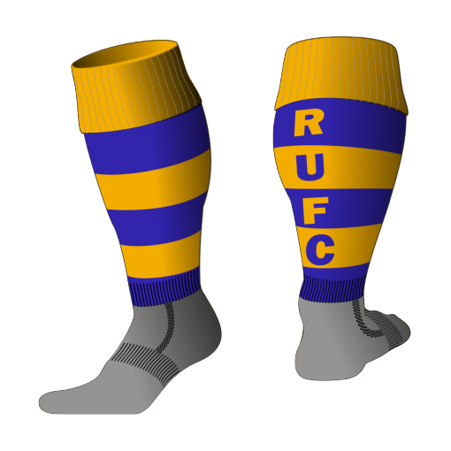 Custom, Bespoke Rugby Sock Design 529 - Badger Rugby