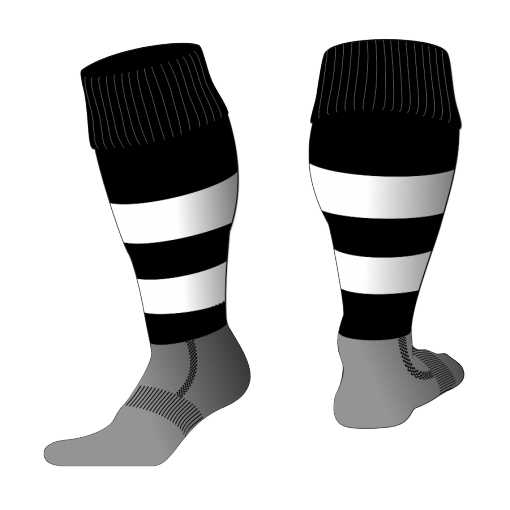 Custom, Bespoke Rugby Sock Design 530 - Badger Rugby