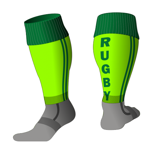 Custom, Bespoke Rugby Sock Design 533 - Badger Rugby
