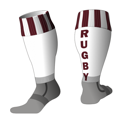 Custom, Bespoke Rugby Sock Design 539 - Badger Rugby